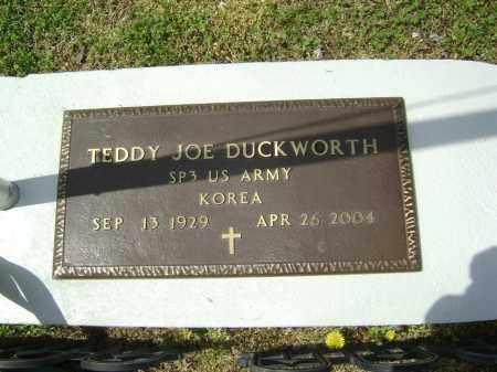 DUCKWORTH  (VETERAN KOR), TEDDY JOE - Lawrence County, Arkansas   TEDDY JOE DUCKWORTH  (VETERAN KOR) - Arkansas Gravestone Photos