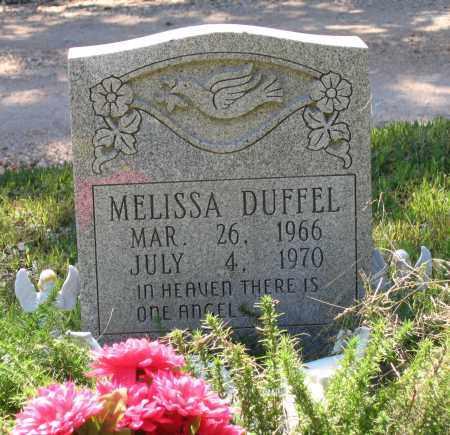 DUFFEL, MELISSA - Lawrence County, Arkansas | MELISSA DUFFEL - Arkansas Gravestone Photos