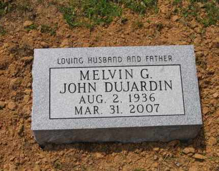 DUJARDIN, MELVIN GEORGE JOHN - Lawrence County, Arkansas | MELVIN GEORGE JOHN DUJARDIN - Arkansas Gravestone Photos