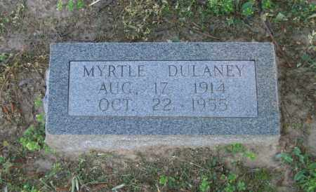CROW DULANEY, MYRTLE - Lawrence County, Arkansas | MYRTLE CROW DULANEY - Arkansas Gravestone Photos