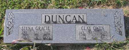 DUNCAN, CLAY OWEN - Lawrence County, Arkansas | CLAY OWEN DUNCAN - Arkansas Gravestone Photos