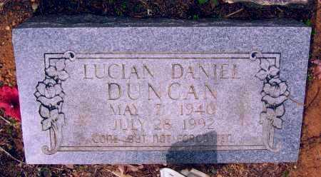 DUNCAN, LUCIAN DANIEL - Lawrence County, Arkansas | LUCIAN DANIEL DUNCAN - Arkansas Gravestone Photos