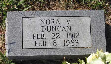 DUNCAN, NORA VINCIN - Lawrence County, Arkansas | NORA VINCIN DUNCAN - Arkansas Gravestone Photos