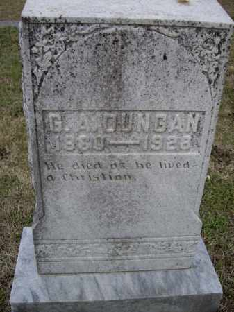 """DUNGAN, GEORGE A.  """"G. A."""" - Lawrence County, Arkansas 