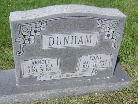 DUNHAM, ARNOLD - Lawrence County, Arkansas   ARNOLD DUNHAM - Arkansas Gravestone Photos