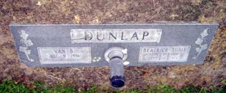 DUNLAP, BEATRICE SUSIE - Lawrence County, Arkansas | BEATRICE SUSIE DUNLAP - Arkansas Gravestone Photos