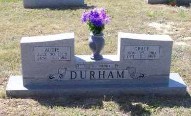 WARD DURHAM, GRACE IRENE - Lawrence County, Arkansas | GRACE IRENE WARD DURHAM - Arkansas Gravestone Photos