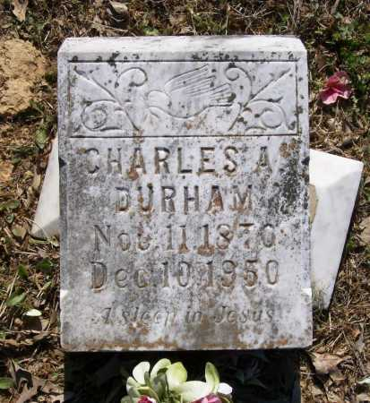 DURHAM, CHARLES ALEXANDER - Lawrence County, Arkansas | CHARLES ALEXANDER DURHAM - Arkansas Gravestone Photos