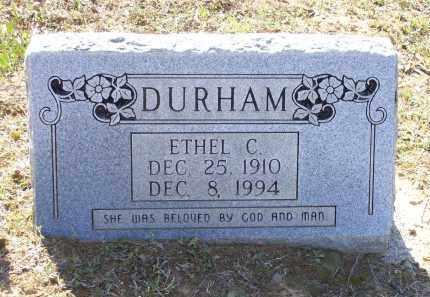 DURHAM, ETHEL CORINE - Lawrence County, Arkansas | ETHEL CORINE DURHAM - Arkansas Gravestone Photos