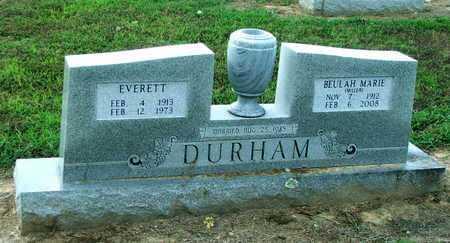 DURHAM, EVERETT GORDON - Lawrence County, Arkansas | EVERETT GORDON DURHAM - Arkansas Gravestone Photos