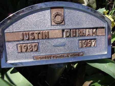 DURHAM, JUSTIN SLOAN - Lawrence County, Arkansas | JUSTIN SLOAN DURHAM - Arkansas Gravestone Photos