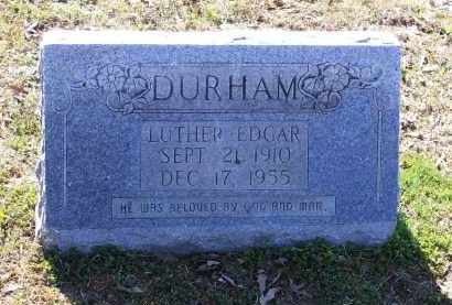 """DURHAM, LUTHER EDGAR """"ED"""" - Lawrence County, Arkansas 