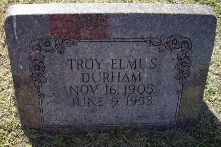DURHAM, TROY ELMUS - Lawrence County, Arkansas | TROY ELMUS DURHAM - Arkansas Gravestone Photos