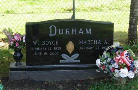 DURHAM, WILLIAM BOYCE - Lawrence County, Arkansas | WILLIAM BOYCE DURHAM - Arkansas Gravestone Photos