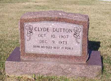 DUTTON, CLYDE - Lawrence County, Arkansas   CLYDE DUTTON - Arkansas Gravestone Photos
