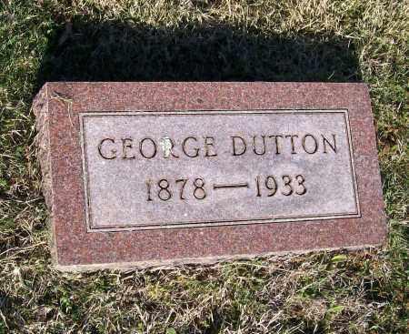DUTTON, GEORGE OSCAR - Lawrence County, Arkansas | GEORGE OSCAR DUTTON - Arkansas Gravestone Photos