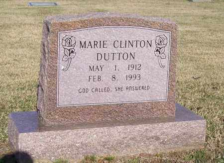 CLINTON DUTTON, MARIE A. - Lawrence County, Arkansas | MARIE A. CLINTON DUTTON - Arkansas Gravestone Photos