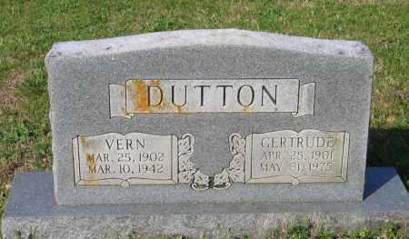 DUTTON, GERTRUDE - Lawrence County, Arkansas | GERTRUDE DUTTON - Arkansas Gravestone Photos