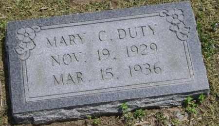 DUTY, MARY CLUDE - Lawrence County, Arkansas   MARY CLUDE DUTY - Arkansas Gravestone Photos