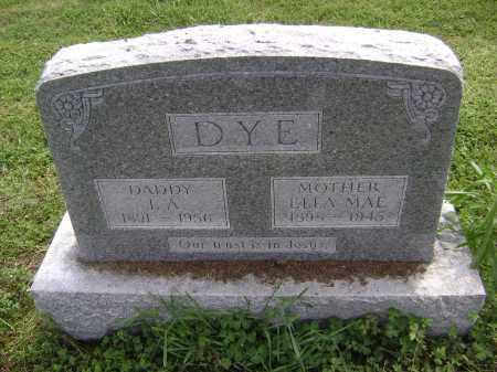 DYE, I. A. - Lawrence County, Arkansas   I. A. DYE - Arkansas Gravestone Photos