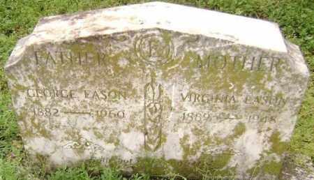 EASON, VIRGINIA - Lawrence County, Arkansas | VIRGINIA EASON - Arkansas Gravestone Photos