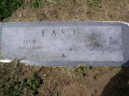 "EAST, WESLEY AUGUSTA ""GUSSIE"" - Lawrence County, Arkansas 