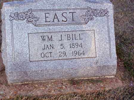 """EAST, WILLIAM """"BILL"""" HENRY JAMES - Lawrence County, Arkansas 