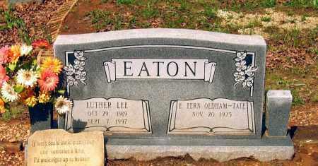 EATON, LUTHER LEE - Lawrence County, Arkansas | LUTHER LEE EATON - Arkansas Gravestone Photos