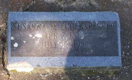 EGGENSPERGER, SUSANNA - Lawrence County, Arkansas   SUSANNA EGGENSPERGER - Arkansas Gravestone Photos