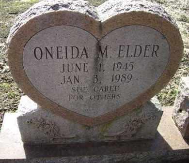 ELDER, ONEIDA MARIE - Lawrence County, Arkansas | ONEIDA MARIE ELDER - Arkansas Gravestone Photos