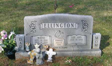 ELLINGTON, WILLIAM WAYNE - Lawrence County, Arkansas | WILLIAM WAYNE ELLINGTON - Arkansas Gravestone Photos