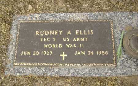 ELLIS  (VETERAN WWII), RODNEY ALVIN - Lawrence County, Arkansas | RODNEY ALVIN ELLIS  (VETERAN WWII) - Arkansas Gravestone Photos