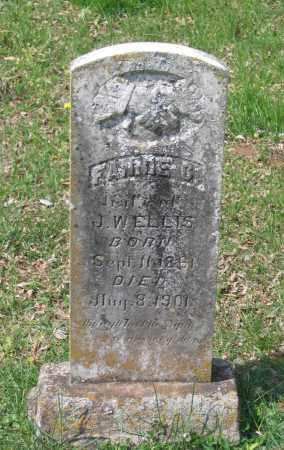 HUFFMAN ELLIS, FANNIE C. - Lawrence County, Arkansas | FANNIE C. HUFFMAN ELLIS - Arkansas Gravestone Photos