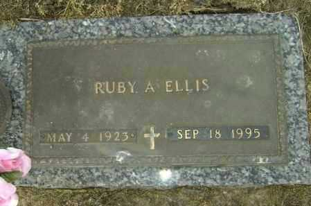 ELLIS, RUBY A. - Lawrence County, Arkansas | RUBY A. ELLIS - Arkansas Gravestone Photos