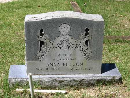BOWMAN ELLISON, ANNA - Lawrence County, Arkansas | ANNA BOWMAN ELLISON - Arkansas Gravestone Photos