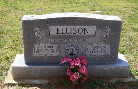 """ELLISON, CLARENCE EVERETT """"CHIG"""" - Lawrence County, Arkansas 