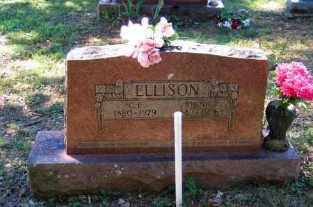 "ELLISON, CLARENCE EDGAR ""CAPP"" - Lawrence County, Arkansas | CLARENCE EDGAR ""CAPP"" ELLISON - Arkansas Gravestone Photos"