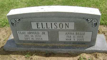 MCKNIGHT ELLISON, ANNA BELLE - Lawrence County, Arkansas | ANNA BELLE MCKNIGHT ELLISON - Arkansas Gravestone Photos