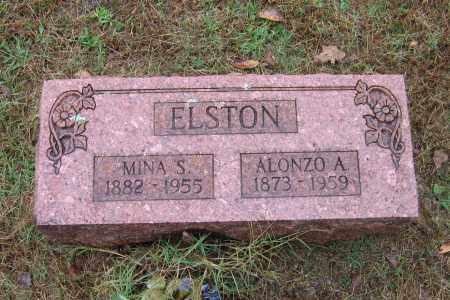 ELSTON, ALONZO ANCEL - Lawrence County, Arkansas | ALONZO ANCEL ELSTON - Arkansas Gravestone Photos