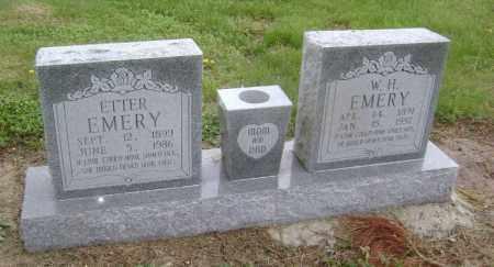 EMERY, W. H. - Lawrence County, Arkansas | W. H. EMERY - Arkansas Gravestone Photos
