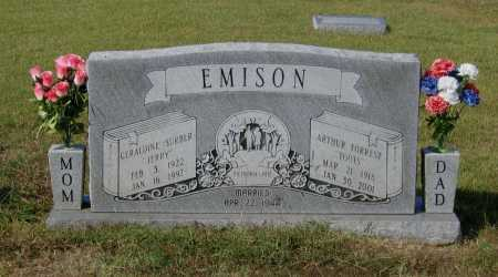 "SURBER EMISON, GERALDINE ""JERRY"" - Lawrence County, Arkansas 