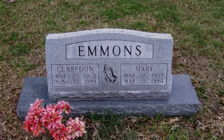 EMMONS, MARY - Lawrence County, Arkansas | MARY EMMONS - Arkansas Gravestone Photos