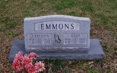 EMMONS, MARY - Lawrence County, Arkansas | MARY EMMONS - Arkansas Gravestone Photos