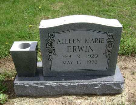 ERWIN, ALLEEN MARIE - Lawrence County, Arkansas | ALLEEN MARIE ERWIN - Arkansas Gravestone Photos