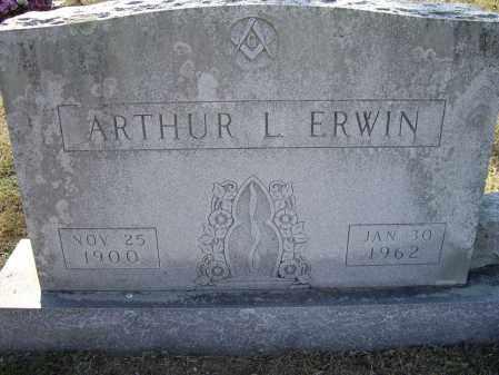 ERWIN, ARTHUR L. - Lawrence County, Arkansas | ARTHUR L. ERWIN - Arkansas Gravestone Photos