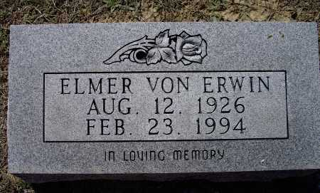 ERWIN, ELMER VON - Lawrence County, Arkansas | ELMER VON ERWIN - Arkansas Gravestone Photos
