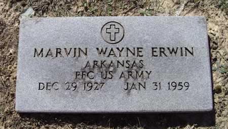 ERWIN (VETERAN), MARVIN WAYNE - Lawrence County, Arkansas | MARVIN WAYNE ERWIN (VETERAN) - Arkansas Gravestone Photos