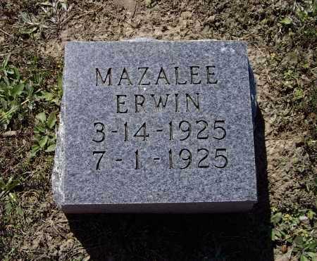 ERWIN, MAZALEE - Lawrence County, Arkansas   MAZALEE ERWIN - Arkansas Gravestone Photos
