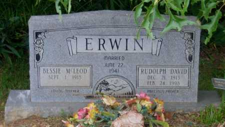 ERWIN, RUDOLPH DAVID - Lawrence County, Arkansas | RUDOLPH DAVID ERWIN - Arkansas Gravestone Photos