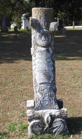 ERWIN, SAMUEL MONROE - Lawrence County, Arkansas | SAMUEL MONROE ERWIN - Arkansas Gravestone Photos